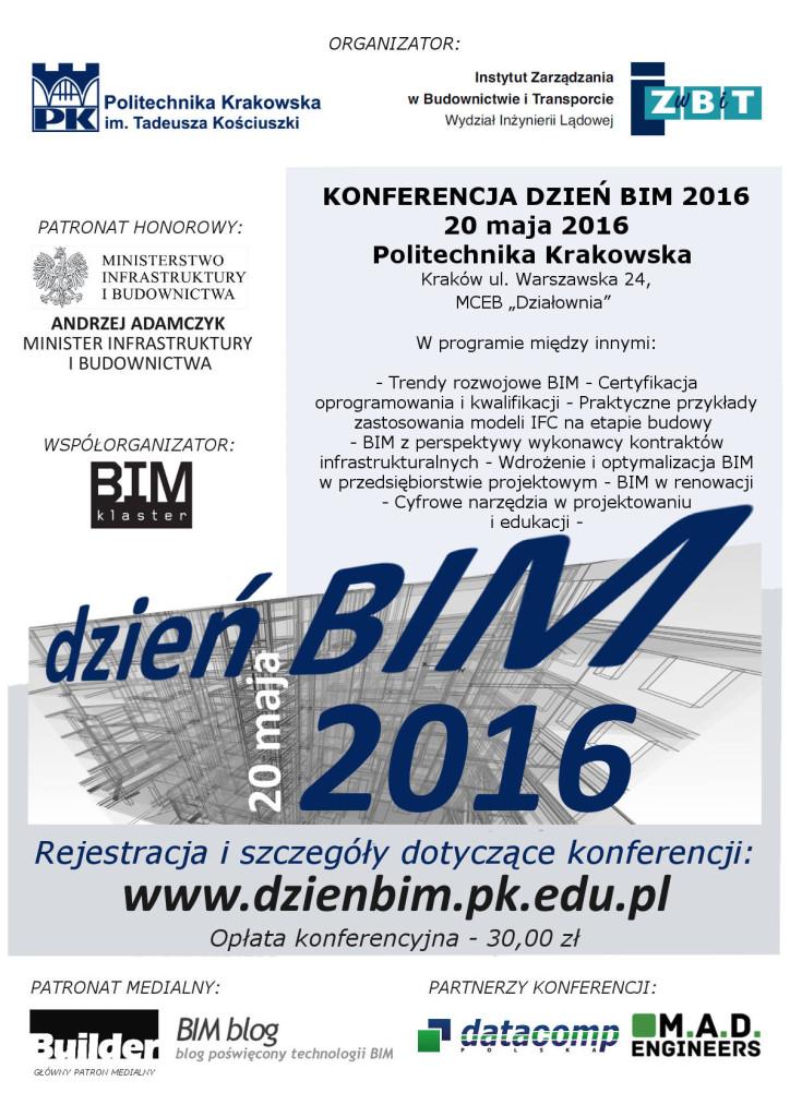 DZIEŃ BIM 2016 plakat jpeg (1)